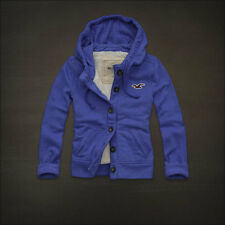 HOLLISTER By Abercrombie & Fitch Hoodie jacket outwear Feux Fur Lining small