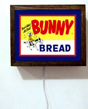 Bakery Baking Bunny Bread Store Cafe Diner Chef Cooking Flour Light Lighted Sign