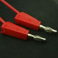 4mm Stackable Banana Test Lead 500mm Red