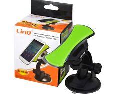 SUPPORTO DA AUTO PER CELLULARI APPLE SMARTPHONE GPS MP3 MP4 LINQ 02-HD18 mshop