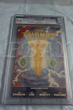 THE THANOS QUEST 2 CGC GRADED 9.4 WHITE PAGES THANOS AVENGERS INFINITY WAR