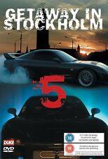 Getaway in Stockholm 5 (New DVD) Street Custom Tests Motor Racing Mr X Stunts