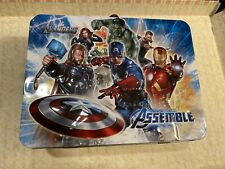 Avengers Metal Lunchbox 2012 Marvel ( No Thermos)