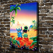 Disney Lilo & Stitch HD Canvas Paintings Print Home Decor Room Wall Art Pictures