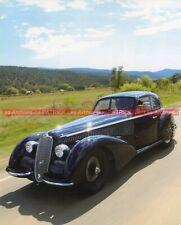 ALFA ROMEO 8C 2900 BERLINETTA 1936 TOURING Fiche Auto #009023
