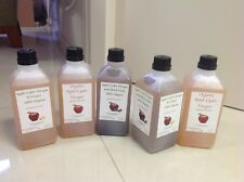 Mix of Vinegars +, Black Garlic, Ginger, and Combined 5 x 1ltrs SPECIAL OFFER