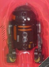 "Star Wars LOOSE R2-Q5 ASTROMECH DROID IMPERIAL FORCES Black 6"" EE Exclusive"