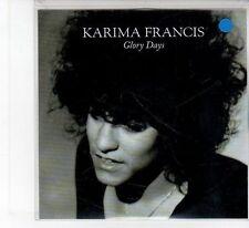 (FB51) Karima Francis, Glory Days - DJ CD