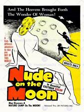 FILM NUDE ON THE MOON SCI FI ADULT FANTASY ADVENTURE USA ART POSTER PRINT CC6430