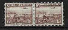 SOUTH WEST AFRICA, KGV1 1937 MAIL TRAIN, SG 96, MNH PAIR, CAT £29.