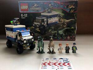 LEGO Jurassic World 'Raptor Rampage' Set 75917 Ages 6-12