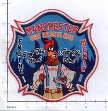 Connecticut - Manchester Engine 1 Medic 1 CT Fire Dept Patch EMS