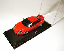 PORSCHE 911 (996 a) Coupe gt3 GT 3 in ROSSO ROUGE ROSSO Roja Red, Minichamps 1:43!