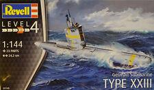 REVELL® 05140 German Submarine Type XXIII in 1:144