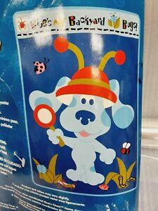 "2003 Blue's Clues Luxury Plush Blanket  30"" x 43"" Super Soft!! Brand New"