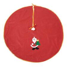 Décorations de sapin de Noël rouges pour salon