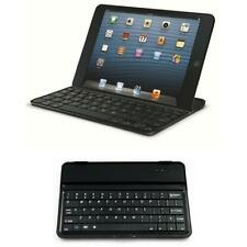 Alu clavier uk noir sans fil bluetooth qwerty-ipad mini 1/2/3 * vente *