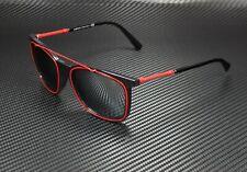 VERSACE VE4335 GB1 88 Black Grey Mirror Silver Gradient 56 mm Men's Sunglasses