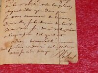 LETTRE AUTOGRAPHE SIGNEE E.-N. MEHUL (Musique Opéra) 4pp. 1790 à VALADIER (Cora)