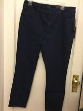 NWT NYDJ 16 NICHELLE Ankle fit Stitch Cuff Jean Boyfriend ECHO VALLEY
