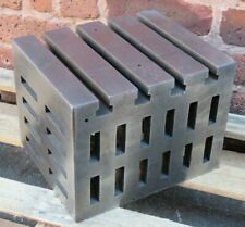 """12"""" x 10"""" x 9"""" Cast Iron Cube For Milling Drilling AP69"""