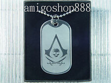 Assassins Creed Black Flag Double Blade Dog Tag Necklace