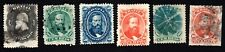 Brazil 1866 group of stamps Mi#23-28 used CV=24.7€