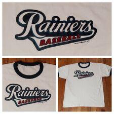 vintage Seattle Mariners Tacoma Rainiers Baseball t shirt Xl ringer Seahawks