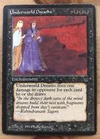 Mtg Magic the Gathering - Legends - 1x Underworld Dreams - Great condition