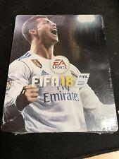 FIFA 18 Steelbook Renaldo Case - NO GAME (Sealed)