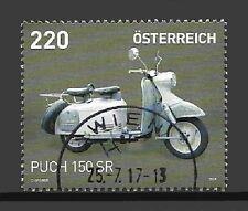 Österreich Mi.Nr. 3342 (2017) gestempelt/Motorräder (Puch 150 SR)