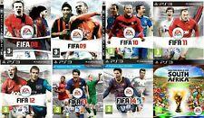 FIFA 08 09 10 11 12 13 14 15 World Cup & PES PS3 PlayStation 3 Xbox 360 PS2