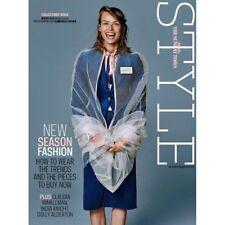 UK Style Magazine September 2018 MARC JACOBS INTERVIEW Birgit Kos SHANNON PURSER