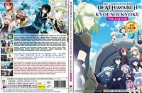 ANIME DVD~ENGLISH DUBBED~Death March Kara Hajimaru Isekai(1-12End)FREE SHIP+GIFT