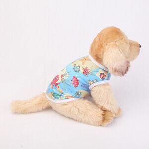 1PC Dog Fruit Print Thin Soft Vest Comfortable Breathable Cute Pet Clothes