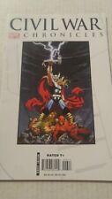 Civil War Chronicles #6 March 2008 Marvel Comics