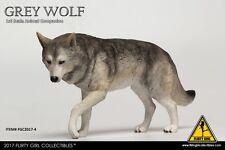 "CRIMSON Heroes Animal 1:6 Model Toy FLIRTY GIRL Grey Wolf Companion F 12"" Figure"