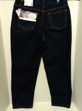 "Lands' End Women's Petite Jeans Relaxed Fit  Size 10P~27"" Inseam~NEW WITH TAGS"