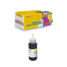 T6644 Compatible 1Pack Yellow Dye Ink Bottles for Epson L100 L120 L130 L350 L375