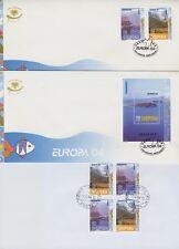 EUROPA CEPT 2004 - ALBANIEN 2966-67 + BLOCK 150 AUF FDC ERSTTAGSBRIEF
