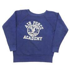"VTG 50s Champion Adult Large 40"" United States Air Force Academy Sweatshirt USA"