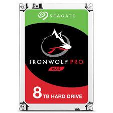 Hd Seagate 3 5 8tb Ironwolf Pro SATA 6gb/s 7200rpm 256MB