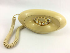 Vintage American Telecommunications Corp (ATC) Genie Push Button Telephone Beige
