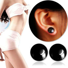 Women Healthy Stimulating Acupuncture Stud Earring Magnetic Slimming Lose Weight