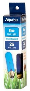 Aqueon Blue Cool Light Incandescent T10 25W Free Shipping