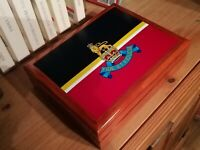 Royal Army Pay Corp Military Medals and Memorabilia Box, Perfect Gift,