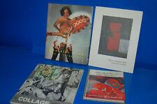 Lote de 4 Libros REMEDIOS VARO-EL COLLAGE-ARTE ABSTRACTO-MANUEL ANGELES ORTIZ