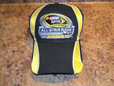 2014 Nascar Sprint Cup Series Men's Hat Cap Black Yellow Adjustable