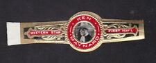 Ancienne Bague de Cigare Vitola BN110900 Homme Ken Maynard Western Star