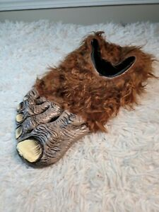 """A bigfoot or big right foot as part of a costume or decoration. Measures 15"""" lon"""